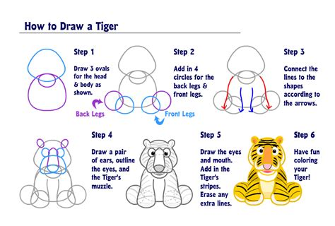 learn how to make doodle learn how to draw a tiger wkn webkinz newz