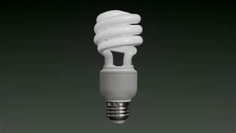 fluorescent lights flickering bulbs floating compact fluorescent light bulb cfl on a