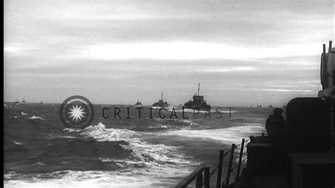 boat crash english channel elements of allied d day invasion convoy underway in the