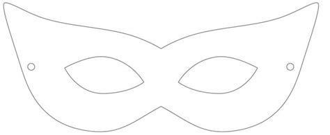 best photos of masquerade mask outline printable