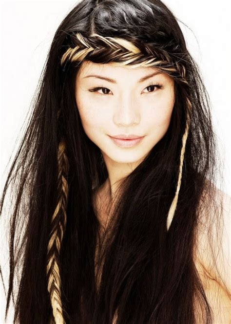 nice hairstyles for long hair nice easy hairstyles for long hair with braids images