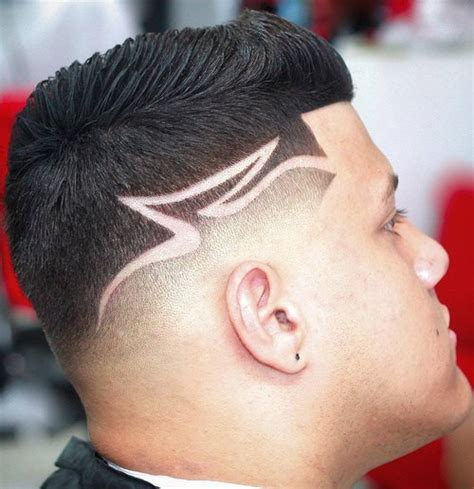 hair styles for men with line shaved haircut with line fade haircut with lines www pixshark