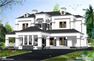 House Models Plans by Victorian Model House Exterior Kerala Home Design And