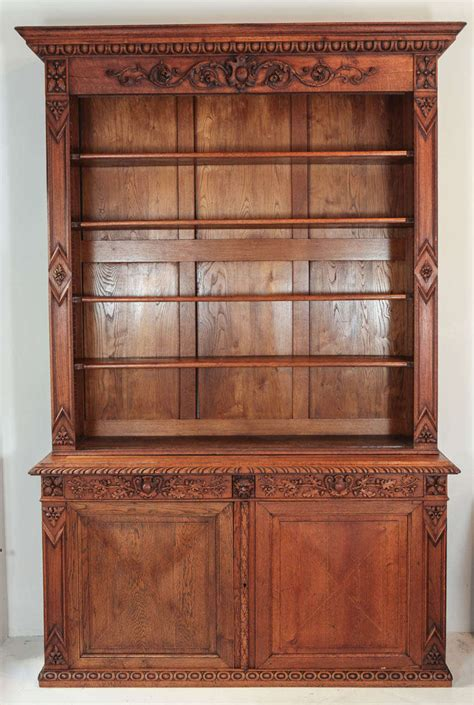 pattern old fashioned hutch large scale victorian cabinet and hutch for sale at 1stdibs