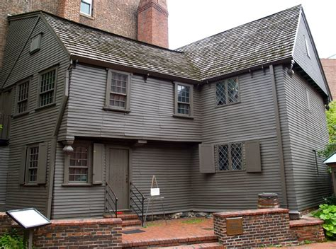 Paul Revere House by Facts On Paul Revere