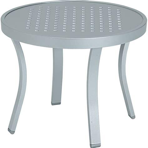 20 inch round table tropitone 9382sb millennia 20 inch round tea table