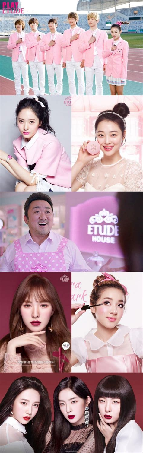 Terbaru Etude House gunakan konsep pink sejak shinee hingga begini