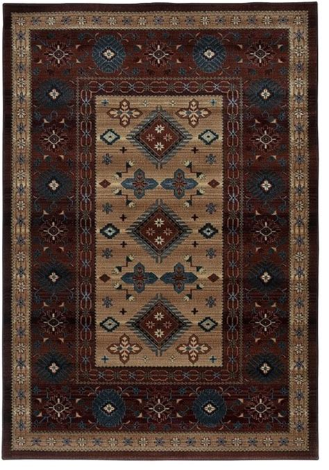 Rustic Area Rugs Southwestern Lodge Bellevue 1 8 Quot X2 6 Quot Rectangle Area Rug Rustic Floor Rugs By Rugpal