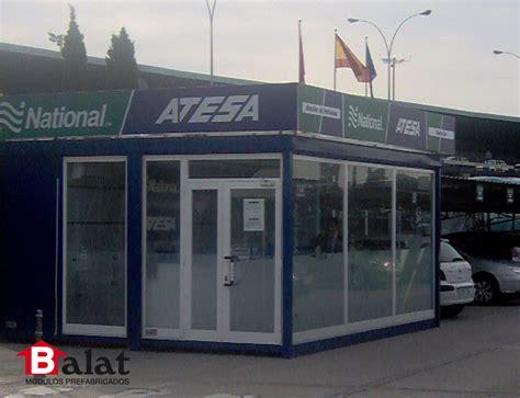 oficinas atesa madrid casetas prefabricadas para la empresa de alquiler atesa