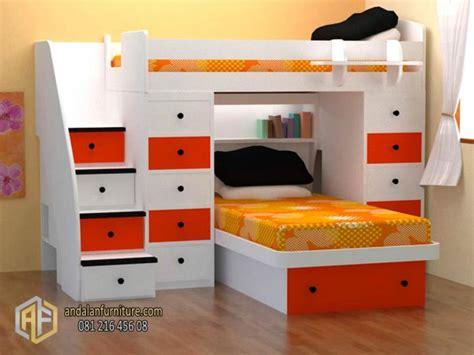 Tempat Tidur Tingkat Kayu Olympic ranjang tempat tidur anak tingkat minimalis oleh riski