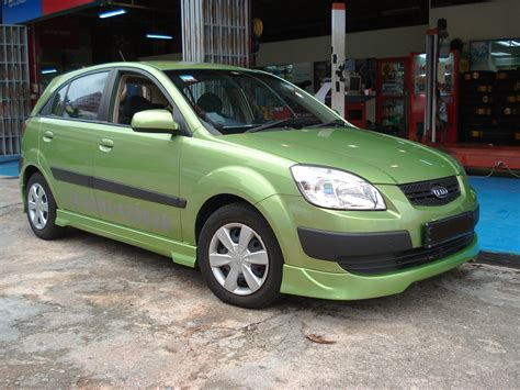 Kia Hatchback 2006 Kia Hatchback 2006 Pur Car Ground Effect Bodykit