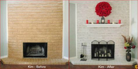paint brick fireplace before after fireplace decorating fireplace paint metamorphosis