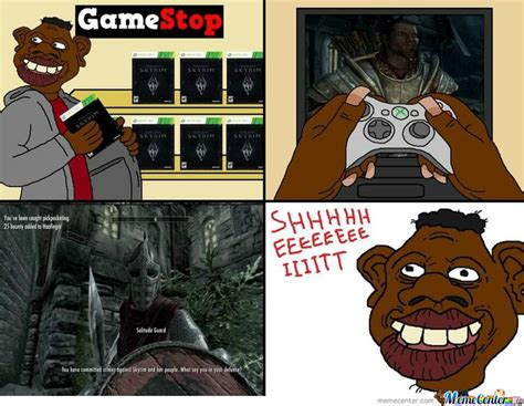 Tyrone Meme - tyrone plays skyrim by tigertank meme center