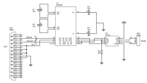 rs232 to rs485 converter circuit diagram rs485 duplex wiring ethernet ip elsavadorla