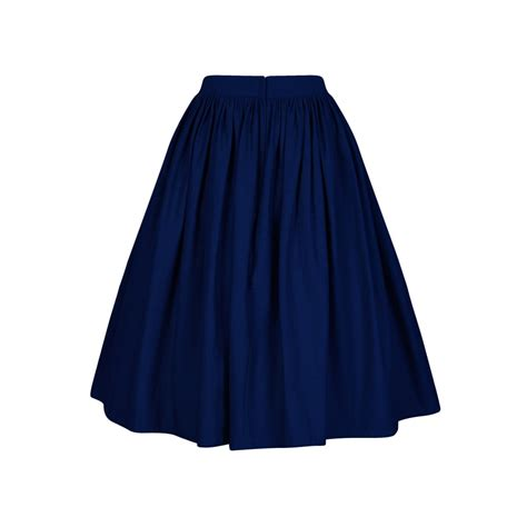 swinging skirts collectif vintage talis plain swing skirt collectif