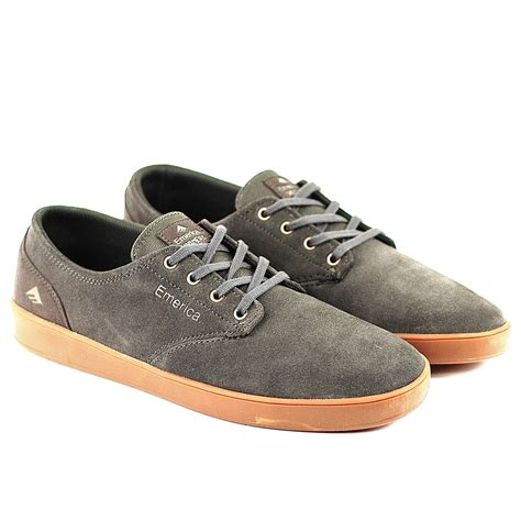 emerica romero laced grey gum forty two skateboard shop