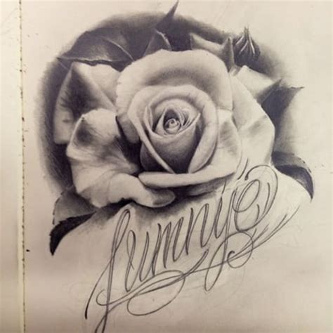 rose realistic drawing at getdrawings com free for