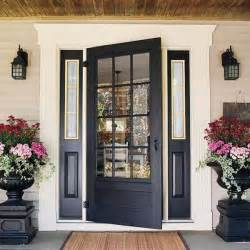 how to paint the front door of a house 30 front door ideas and paint colors for exterior wood