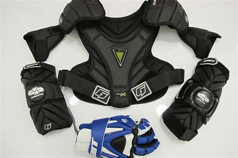 Shoulder Pads 0815 Chaoba Sport by Gait S New Protective Line Dakota Inside Lacrosse