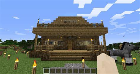 come fare casa come fare una casa in legno in minecraft