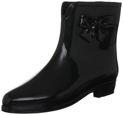 mel by black black s ankle boots wellies