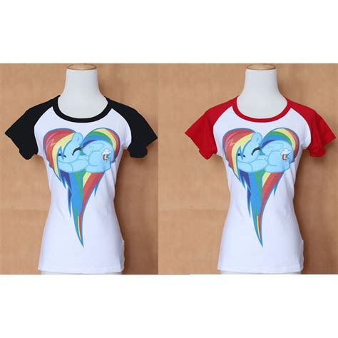 graphic pattern t shirt my little pony rainbow dash clouds brony pattern t shirt
