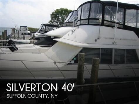 Silverton 40 Aft Cabin Review by Silverton 40 Aft Cabin For Sale In Patchogue Ny For