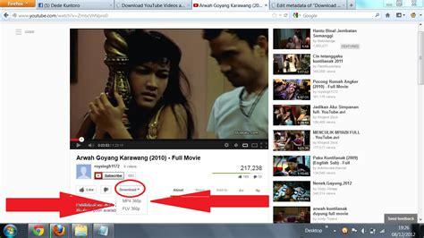 cara mendownload video di youtube dengan mudah youtube cara mudah mendownload video youtube ukuran besar