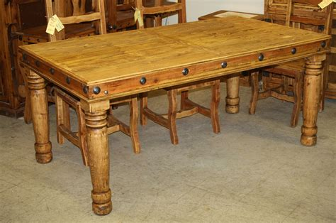 dining room table rustic francis dining table 71 quot durango trail rustic furniture