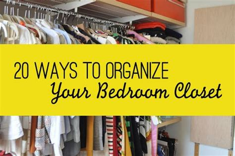 Closet Organization For The Fashion Obsessed by How To Keep Your Room Organized
