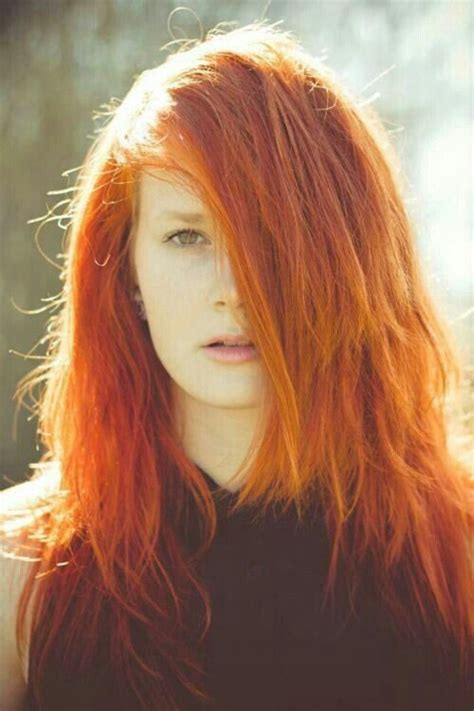 emo hairstyles for redheads ginger hair beauty pinterest