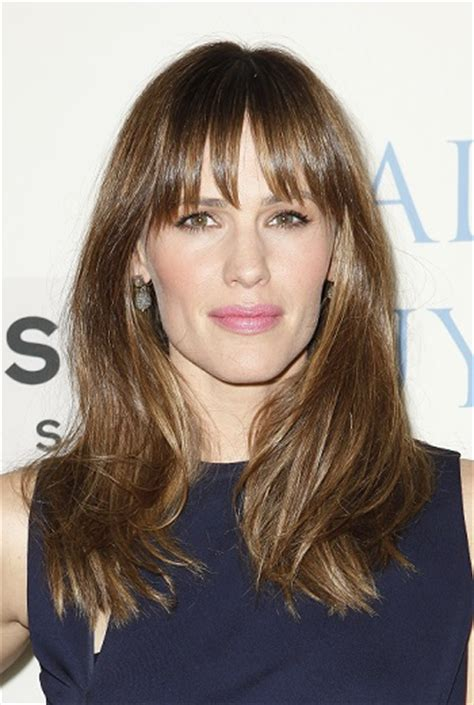 Hottest Long Hairstyles with Bangs   Hottest Celebrity