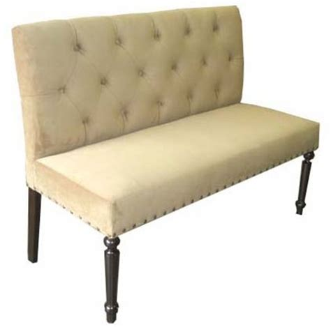 nice upholstered dining bench with back 4 upholstered