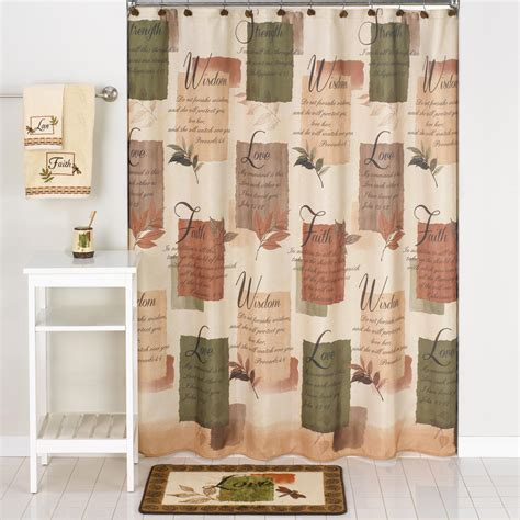 Inspirational Shower Curtain Kmart by Essential Home Fabric Shower Curtain Wisdom