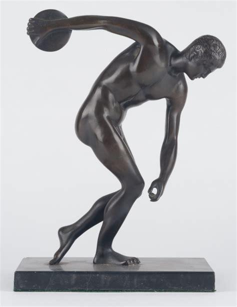 Garden Home Interiors bronze discus thrower