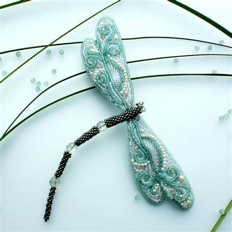 Bead Artwork By Olga Shumilova Dragonflies