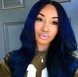 black color hairstyles blue black hair and midnight blue hair on