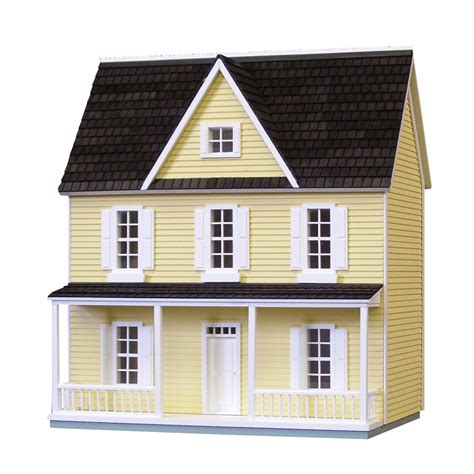 farmhouse kit 1 2 inch scale farmhouse dollhouse kit real good toys