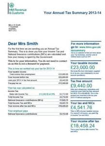 National Insurance Number Letter Meaning Tax Statements Showing 22 Goes On Benefits To Be Sent To 24m Workers Daily Mail
