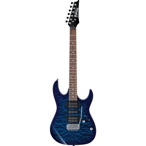 Gitar Ibanez Rg 449 ibanez grx70qa gio series electric guitar grx70qatbb b h photo