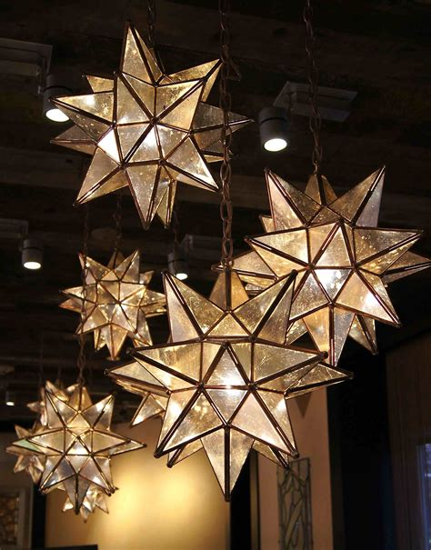 love these moravian star pendants are here for the