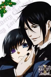 Wallscroll Kuroshitsuji Black Butler Sebastian X Ciel black butler ciel x sebastian anime
