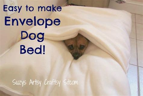 how to make a dog pillow bed 12 unique diy dog beds for any decor iheartdogs com