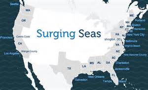 map of us after sea level rise washington d c surging seas sea level rise analysis
