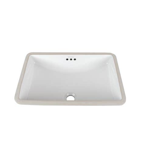 ronbow square vessel sink ronbow essentials rectangular undercounter ceramic vessel