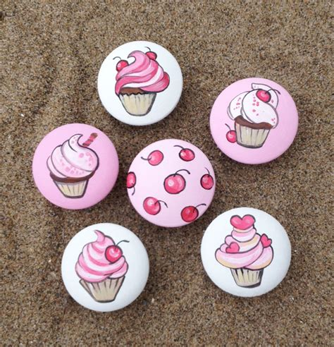 Cupcake Drawer Knobs by Cupcake And Cherry Drawer Pulls Dresser Knobs Closet