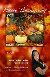thanksgiving cards for realtors and small business includes free shipping set up and tax