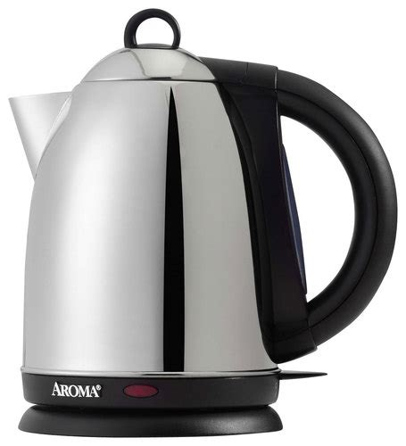 Sa Idealife Automatic Electric Kettle 2 Cups Included Il 100n aroma h20 x press 7 cup electric kettle silver awk125s best buy