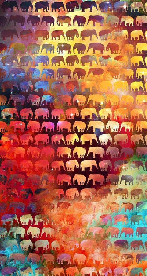 colorful elephant wallpaper colorful elephant wallpaper wallpaper ideas iphone