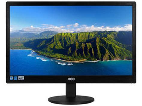 Monitor Murah Monitor Led Aoc E970sw monitor aoc e970sw de 18 5 quot resoluci 243 n 1366 x 768 5 ms
